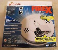 KIDDE FIREX KN-COPE-IC COMBINATION SMOKE AND CARBON MONOXIDE ALARM