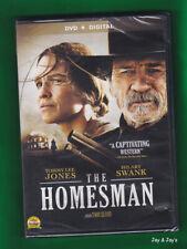 The Homesman (DVD, 2015) Starring: Tommy Lee Jones, Hilary Swank