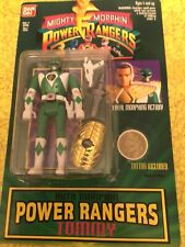 POWER RANGERS TOMMY ACTION FIGURE MOC BY BANDAITOYS