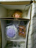 The Danbury Mint Goldilocks Doll & Her Teddy Bear The Storybook Doll Collection