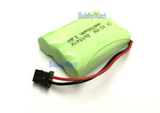 3.6V Ni-MH AAA 700mAh 3-Cell Home Cordless Phone Battery Pack Phone Plug