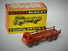 BENBROS QUALITOY V. RARE VINTAGE 1954 BOXED MIGHTY MIDGET #28 FODEN CHAIN LORRY