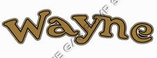 "Wayne Logo 7"" Vinyl Decal (DC112)"