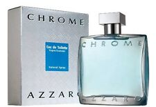 AZZARO CHROME 200ml EDT Spray Men's Perfume NEW & SEALED BOX