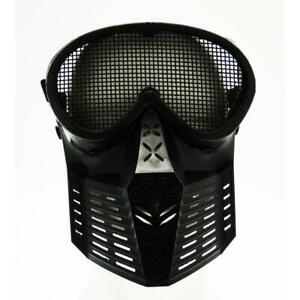 Masque Tactique Métal Face Réseau Noire ROYAL