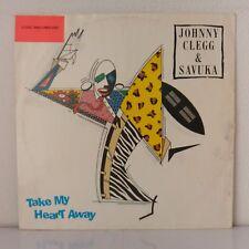 "Johnny Clegg & Savuka – Take My Heart Away (Vinyl, 12"", Maxi 33 Tours)"