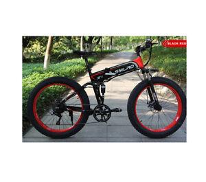 "PhazedE EFT SMLRO 26"" 4.0 Fat Tyre 26"" Folding E-Bike 48V 14.5ah 1000W UK SHOP"