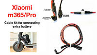 XIAOMI M365 and PRO Cable Kit for Connecting Extra Battery in Parallel 1pc
