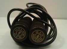 Gold's Gym 9 Ft Black Jump Rope Weighted Handles Fitness Equipment