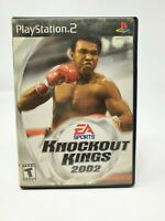 Knockout Kings 2002 - PlayStation 2 PS2 - Complete CIB
