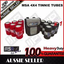 MSA 4X4  TINNIE TUBES WITH STORAGE BAG CAMPING 4WD TRIP HIKING TTS