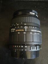 SIGMA 24-70mm 1:3.5-5.6 D ASPHERICAL AUTO-FOCUS LENS NIKON MOUNT Zoom 35mm Digit
