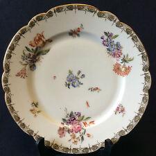 Assiette porcelaine de Paris  Louis-Philippe circa 1840 France