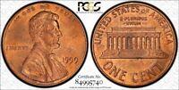 1999 1C Wide AM MS64RB #16 of Top 50 Varieites TrueView - RicksCafeAmerican.com