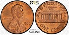 1999 1C Wide AM MS64RB #16 of Top 50 Varieites TrueView - RicksCafeAmerican.com