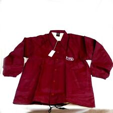 James Fox Imported Canadian Lined Wind Breaker Jacket Coat Size Large L