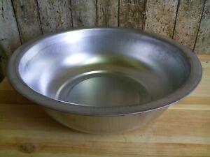 Metallwanne Rund D.40 cm Pflanzenwanne Waschschüssel Blechwanne Zinkwanne