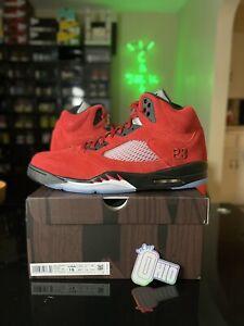 Size 15 Nike Air Jordan 5 Retro 2021 Raging Bull Toro Bravo DD0587 600