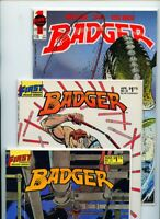 Badger #21, #22, #55, #56, and #57 First Publishing Lot of 5 Comics