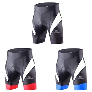 Mens Cycling Shorts Anti-Bac Padded MTB Bicyle Lycra Short Coolmax Padded