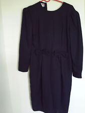 Women Maggy London PETITES Black sz 4 OR 4P dress