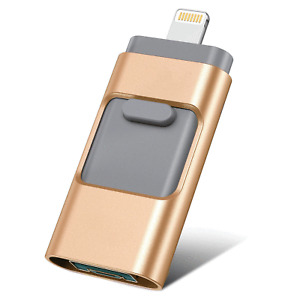 1TB 512/256G USB Flash Drive For iPhone iPad Memory Stick External Storage Drive