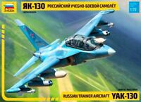 YAKOVLEV YAK-130 (RUSSIAN AF MARKINGS) #7307 1/72 ZVEZDA