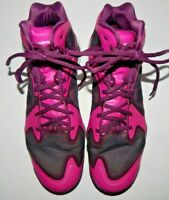 Under Armour Anatomix Micro G Mens Pink & Black Basketball Shoes Size 12