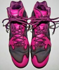 f23ca4810d28 Under Armour Anatomix Micro G Mens Pink   Black Basketball Shoes Size 12