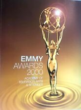 52ND Annual EMMY AWARDS Official 180 pgs Program Book 2000