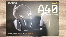 Astro Gaming A40 TR Wired Headset with MixAmp Pro TR Controller - Black