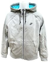 New NIKE Sportswear NSW Fleece Thermore Jacket with Shell Lining Grey M