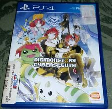 Digimon Story: Cyber Sleuth (Sony PlayStation 4, 2016) PS4 Play Station digi mon