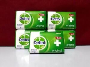 Dettol Anti-Bacterial Original Soap 5 x 100 g - Pack of 5 by Dettol