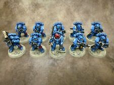 Warhammer 40k Space Marines Ultramarines Tactical Legion Squad Well Painted