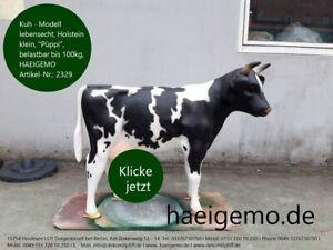 Deko Kuh lebensgroß ist Dir zu groß, dann kauf Dir doch so ein kleines Modell ..
