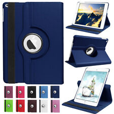 For Apple iPad 7th Gen 10.2 2019 Tablet 360 Rotating PU Leather Stand Case Cover