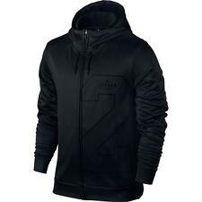 New Mens Jordan Two-Three Therma Lite Full Zip Hoodie 831380-010 Black Size L