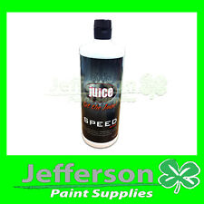 NEW JUICE POLISH SPEED WAX POLISHER 1L HIGH GLOSS WITH DIRT REPELLANT PROPERTIES