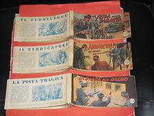 AUDACE RACCOLTINA -la pattuglia dei senza paura completa 1/3-arcobaleno 1950-TEX