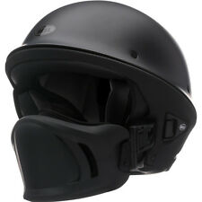 Bell Rogue Flat Matte Black Motorcycle Harley Chopper Bobber Half Helmet X-LARGE
