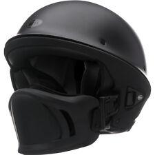 Bell Rogue Flat Matte Black Motorcycle Harley Chopper Bobber Half Helmet LARGE