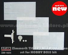 1/16 ATAK MODEL ZM-1611 ZIMMERIT for TIGER I Ausf. E MID PROD for HOBBY BOSS KIT