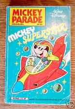 MICKEY PARADE n° 33 - septembre 1982 - MICKEY SUPERSTAR