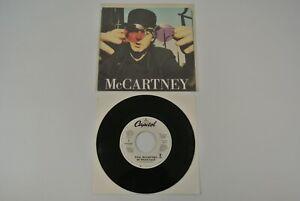 """Paul McCartney My Brave Face 7"""" 45 rpm Vinyl Record 1989 USA P-B-44367 EX"""