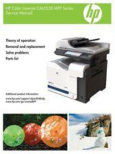 HP Color LaserJet CM3530 Service Manual(Parts & Diagrams)