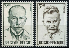 Belgium 1971 SG#2242-3 Celebrities MNH Set #D49228