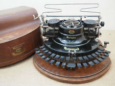 Antique Typewriter HAMMOND Multiplex Ideal écrire Schreibmaschine 打字机 آلة كات