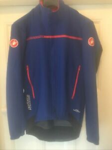 Castelli Perfetto Rosso Corsa Men's Long Sleeve Cycling Jacket / Jersey Large