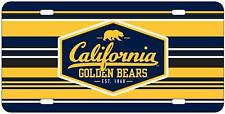 Cal Berkeley Bears License Plate Heavy Duty Acrylic Brand New In Package